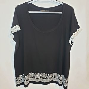 BOGO Love and legend 2x black tee lace and design
